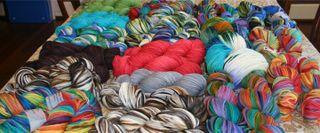 Custom dyeing