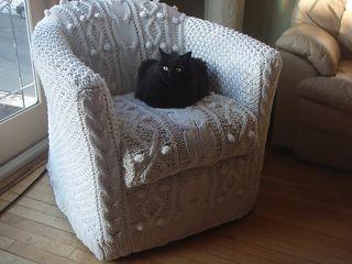Knit chair