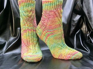 Thanks Socks Free Knitting Pattern
