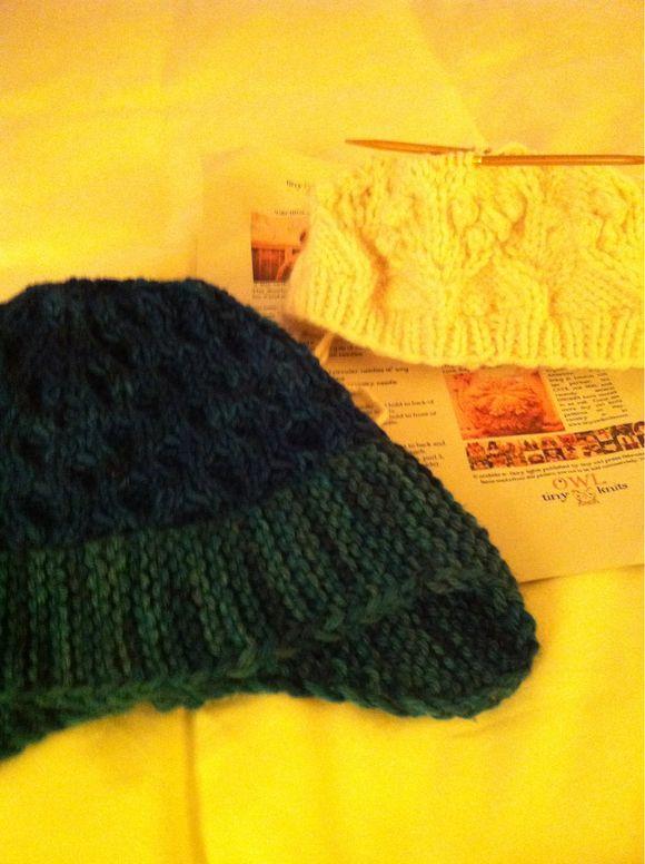 Hotel Hat Knitting