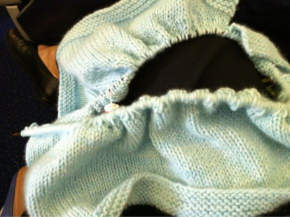 Knitting The Dreaded Ruffle Increase Row