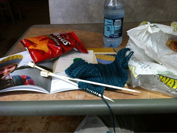 Knitting From The Road