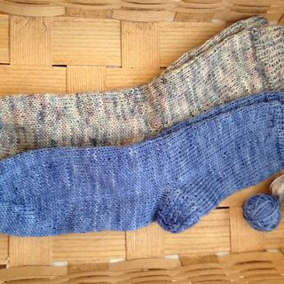 Twoblues socks