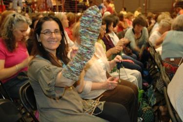Joyce_with_sock