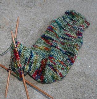 Sock_1_in_progress