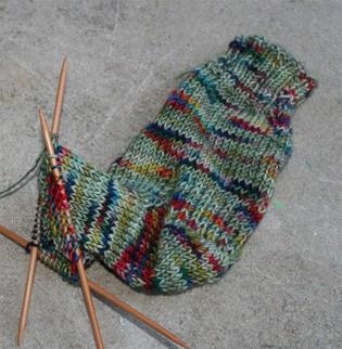 Sock_1_in_progress